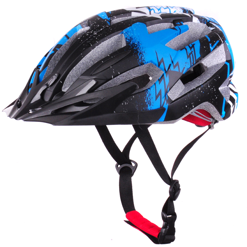 High quality EPS+PC sport bike helmets, CE approved bmx helmet AU-BM11