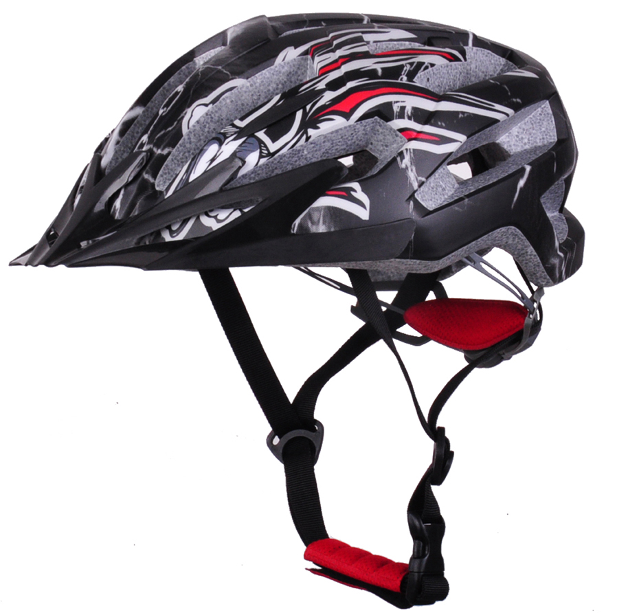 Well ventilation In-mold EPS+PC MTB bicycle helmet road racing helmet manufacturers