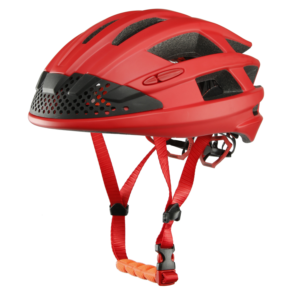 Elegant design road bike helmet innovative smart bicycle helmet with fans and LED light