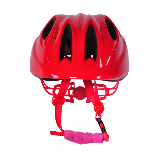Factory children bike helmet toddler boy bike helmet with LED light