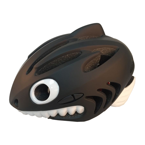 Amazon hot sell CE&CPSC 3D kids bike helmet shark animal helmets for children