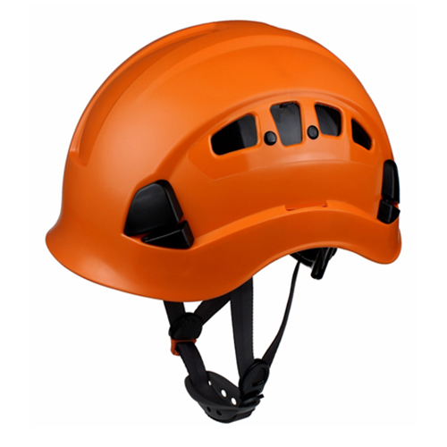 Vented industrial safety helmet protective helmet with open&close ventilation system